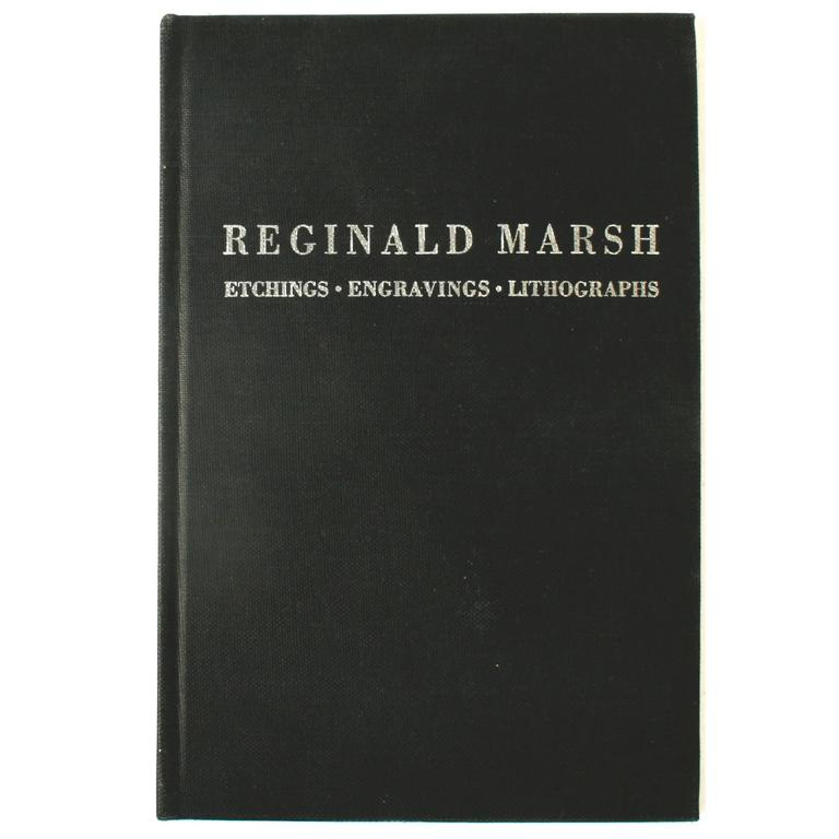 Reginald Marsh, Etchings, Engravings, Lithographs, First Edition For Sale