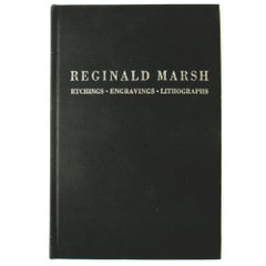 Reginald Marsh, Etchings, Engravings, Lithographs, First Edition