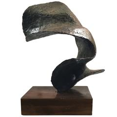 Abstract Bronze Sculpture from the Oceania Series by Seena Donneson