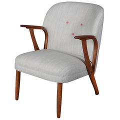 Mid Century Steam Bent Arm Chair