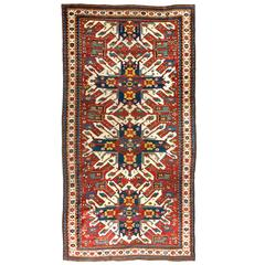 "Antique Caucasian Chelaberd ""Eagle Kazak"" Rug"