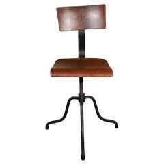 French Swivel Chair, circa 1890
