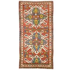 "Antique ""Sunburst"" or ""Eagle Kazak"" Rug. CHELABERD, Karabagh, Southern Caucasus"