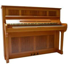 Thurmer T120 Meissen Upright Piano with Inlaid Cabinet