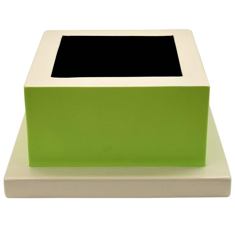 Fruit Tray Green by Ettore Sottsass For Sale