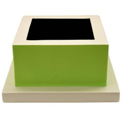 Fruit Tray Green by Ettore Sottsass