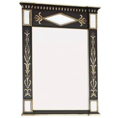 Elegant Neoclassical Mirror with a Deluxe Finish