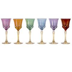 Set of six Doge Water Chalices