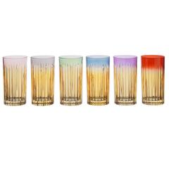 Set of Six Domina Water Glasses