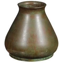 Bronze Vase, Good Patina