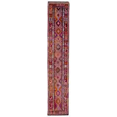 Vintage Persian Kurdish Rug