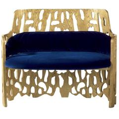 Arnaldo Gold Sofa