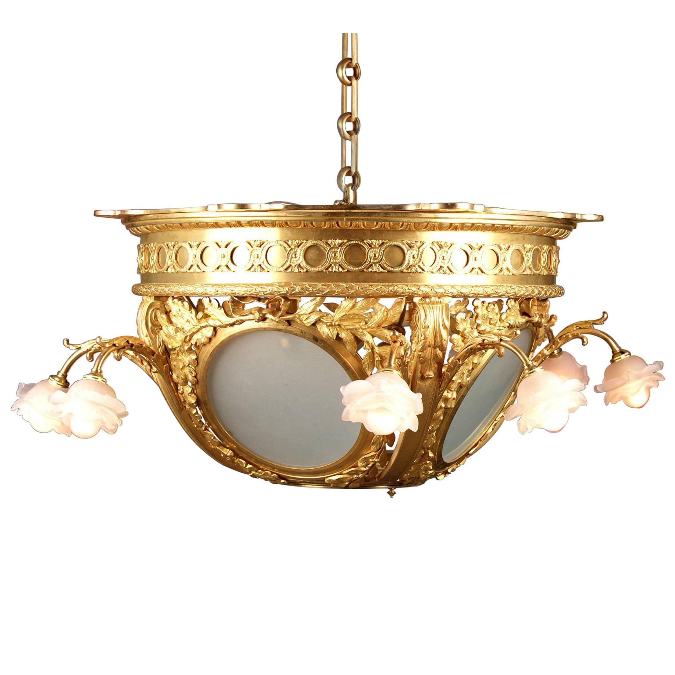 materials combined these and glass cut bohemian chandelier with crystal high decorated are enamel