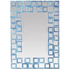Timeless Opaline Venetian Wall Mirror