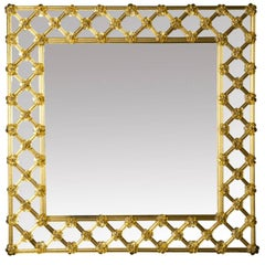 Ambra Venetian Glass Mirror