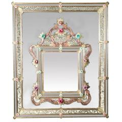 Doppio Venetian Glass Mirror