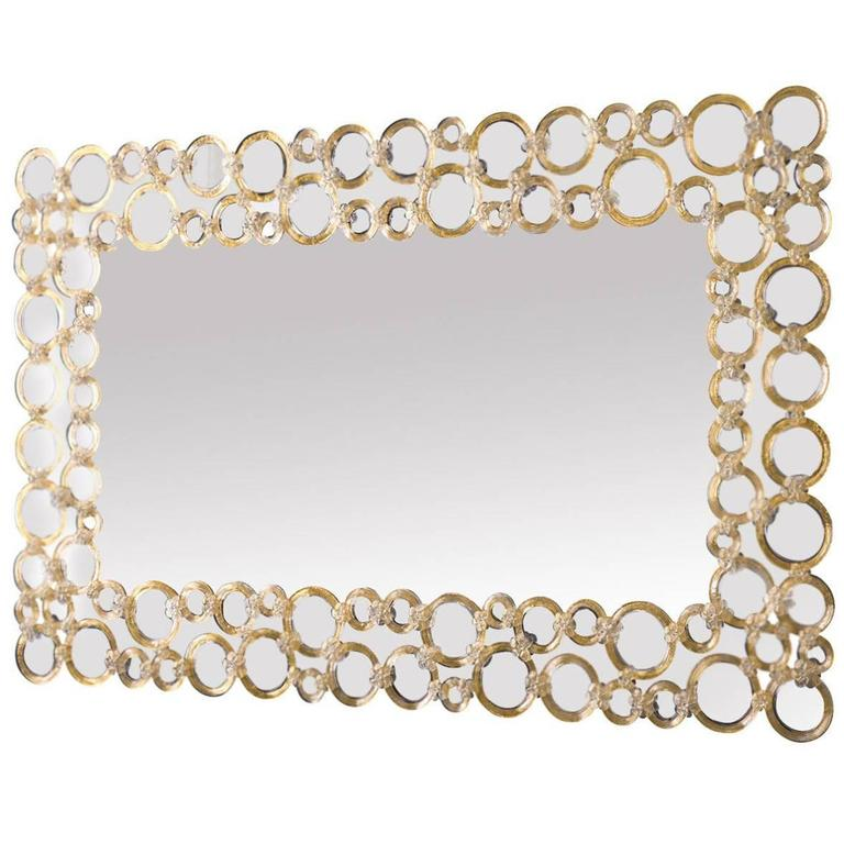 Bolle Venetian Glass Mirror