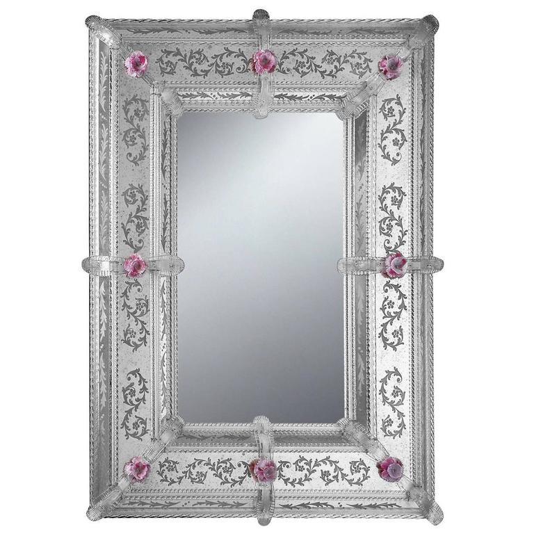 Elegant Rectangular Wall Mirror
