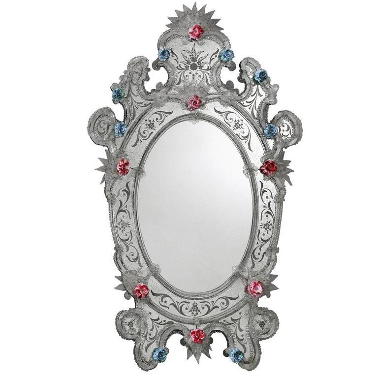 Exquisite Oval 'Tarta' Wall Mirror