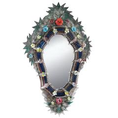 Breathtaking 'Fleur' Wall Mirror