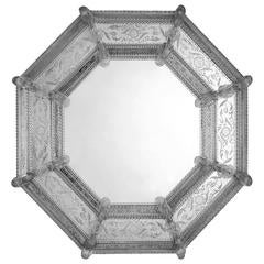 Elegant Octagonal Wall Mirror