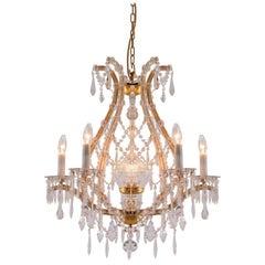 Original Maria Theresa Style crystal chandelier