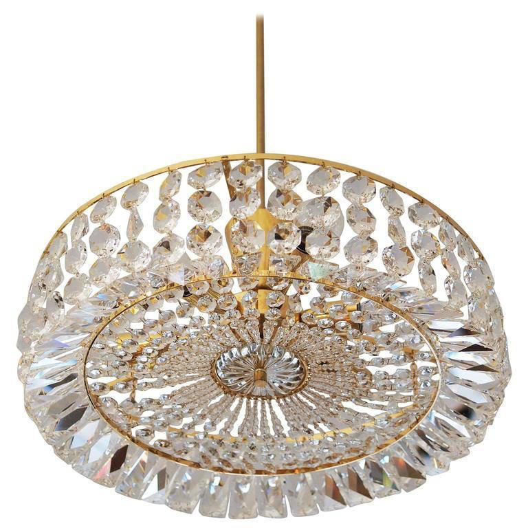 Cut Crystal Austrian Chandelier