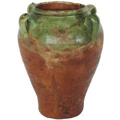 19th Century Glazed Honey Pot