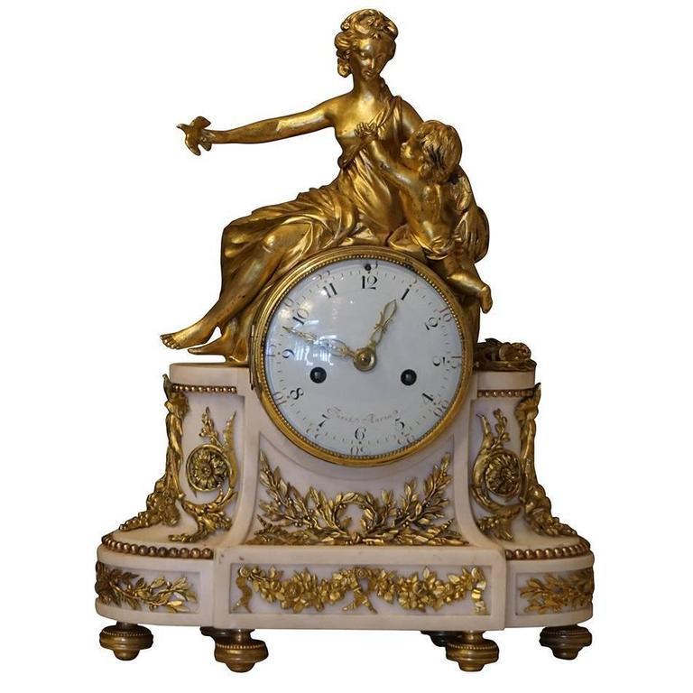 18th Century French Furet Clock