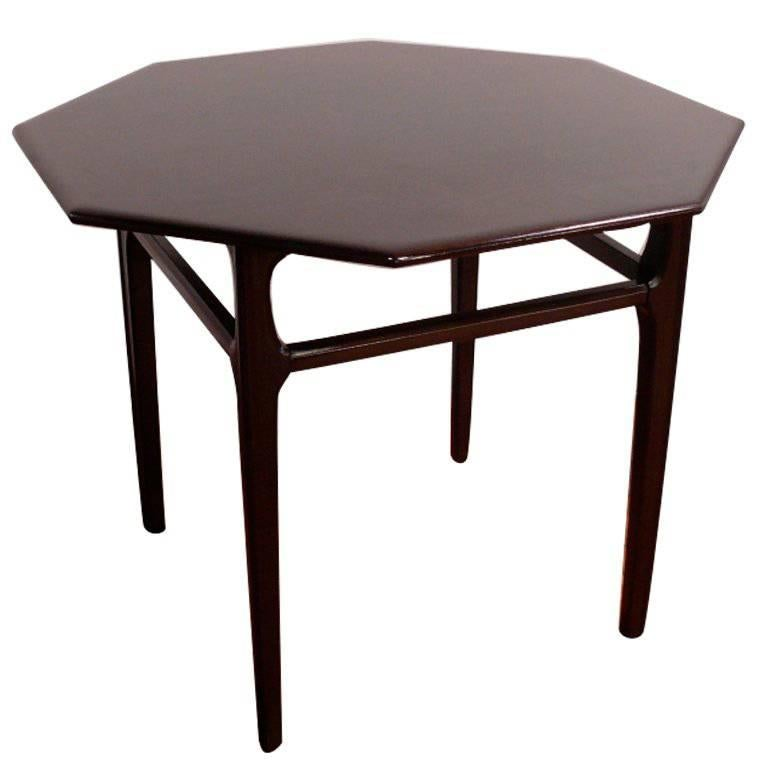 Octagon Side Table For Sale