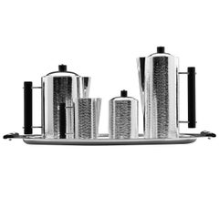 Ebony 5-Piece Complete Tea + Coffee Set by Zanetto