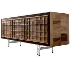 Sophisticated Siena Walnut Wood Sideboard