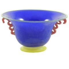 Scavo Multicolored Blue Bowl