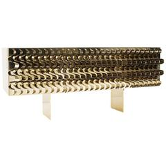 Stunning Gold Sideboard