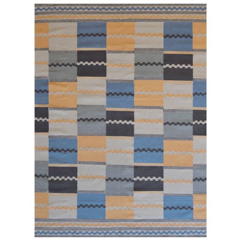 Swedish Flat-Woven Rug