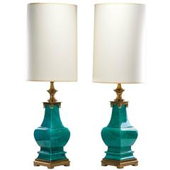 Pair of Stiffel Table Lamps, 1950