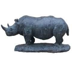 Exclusive Sculpture of Rhinoceros