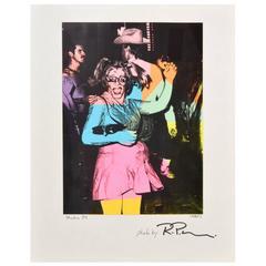 Large Richard P. Manning Cibachrome Print, Studio 54