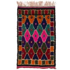Colorful Bohemian Tulu Rug