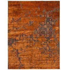 Tabriz Canal Aerial Carpet from Erased Heritage Carpet Collection by Jan Kath