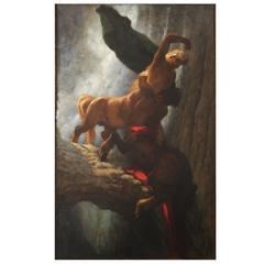 'Battle of the Centaurs' by Maximilian Wachsmuth, circa 1900