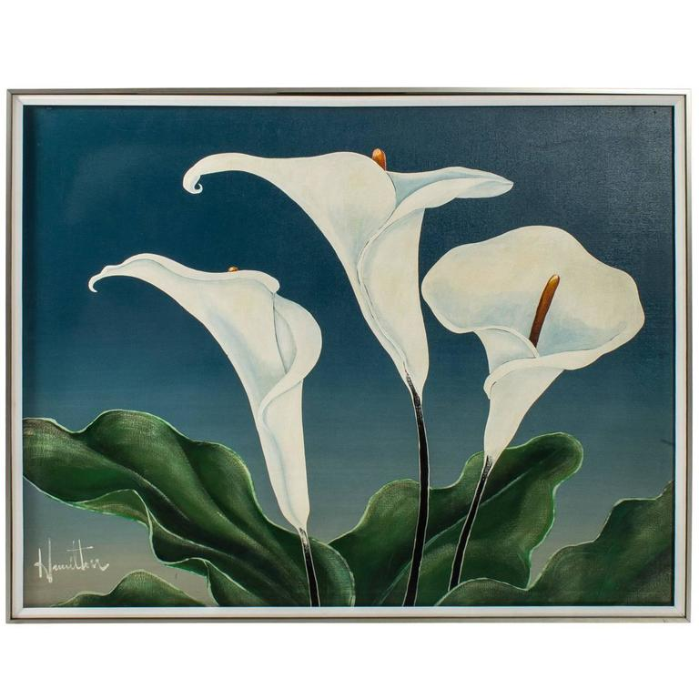 Calla Lily Oil Painting For Sale