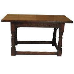 Nice Old Tavern or Work Table, Chestnut Made in Italy or Spain, circa 1780