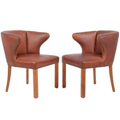 1940s Pair of Armchairs Attributed Frits Henningsen
