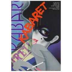 Cabaret Original Czech Film Poster, Bartosova, 1975