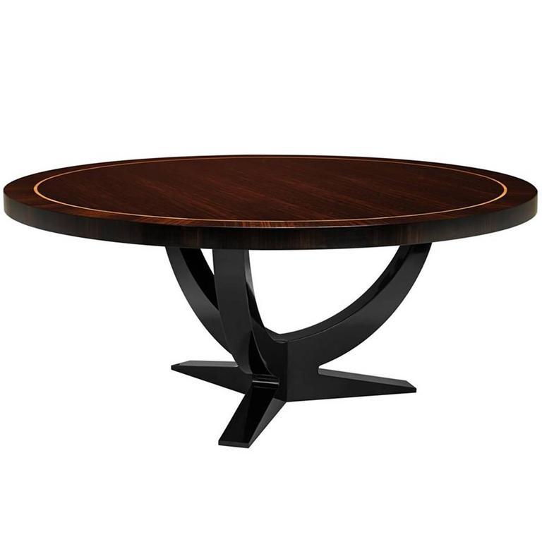 Soprano Dinning Table in Smoked Eucalyptus