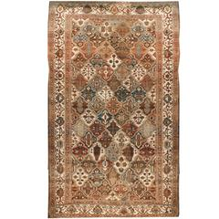 Antique Persian Baktiari Rug