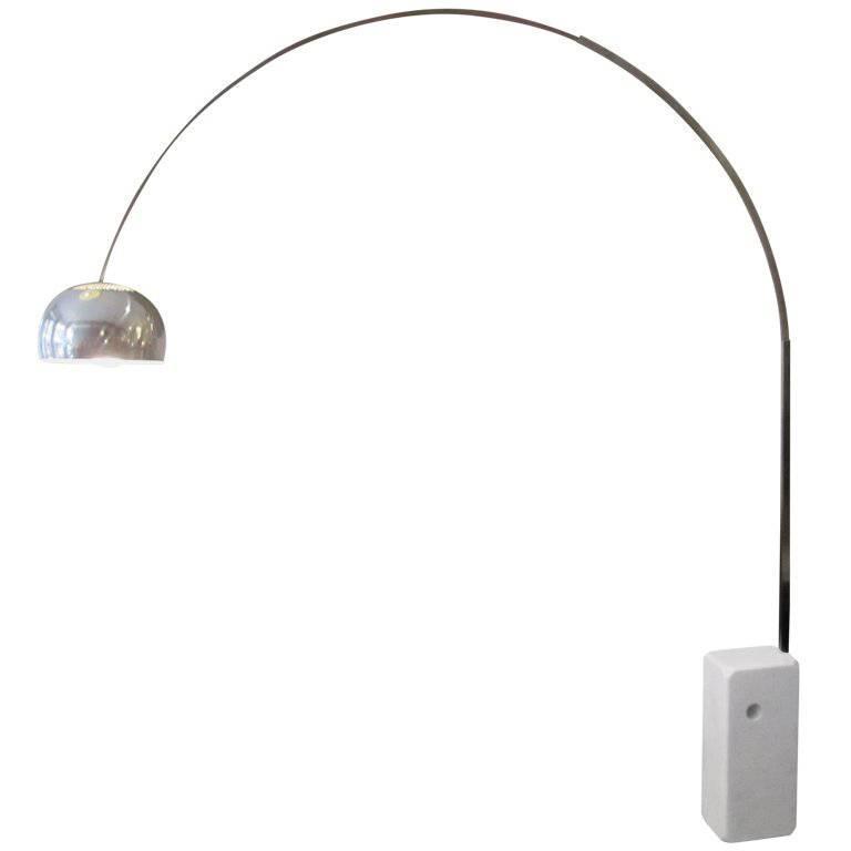 Achille castiglioni for flos arco lamp for sale at 1stdibs for Castiglioni light