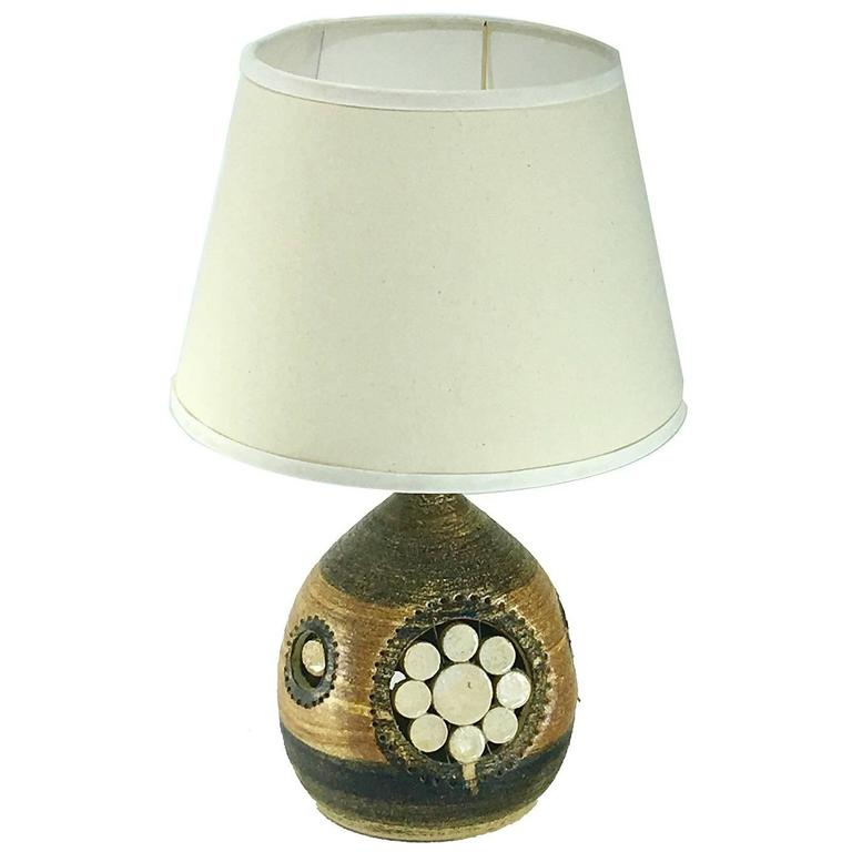 French Riviera 1960 Table Lamp by Georges Pelletier