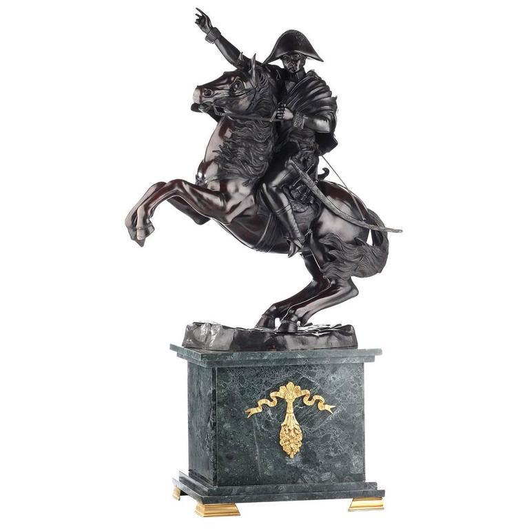 Iconic Napoleon Bonaparte Statue on a Stunning Pedestal